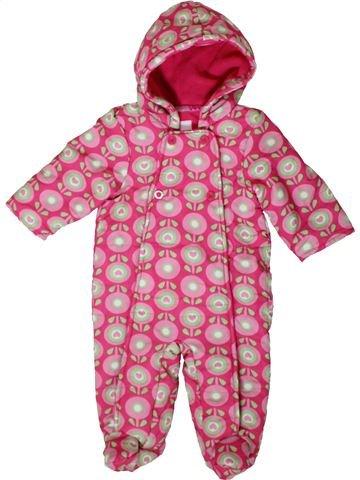 Mono-polar niña BLUEZOO rosa 9 meses invierno #1402926_1