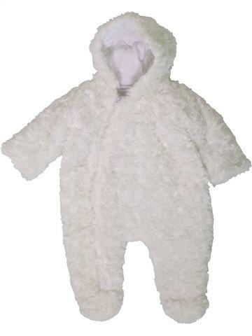 Combi-Pilote fille NURSERY TIME blanc naissance hiver #1402929_1