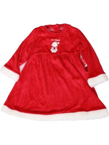 Robe fille MATALAN rouge 2 ans hiver #1402948_1