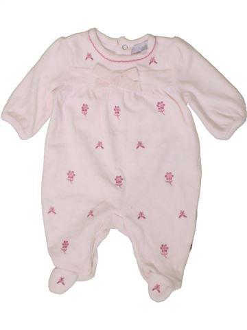Pyjama 1 pièce fille ZIP ZAP violet 1 mois hiver #1402959_1