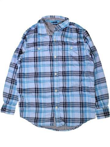 Chemise manches longues garçon GAP bleu 15 ans hiver #1402967_1
