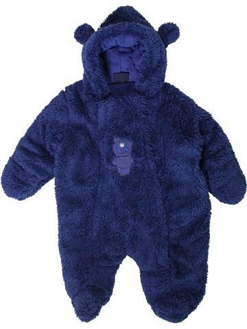 Combinaison longue garçon BEBE BONITO bleu 3 mois hiver #1403061_1