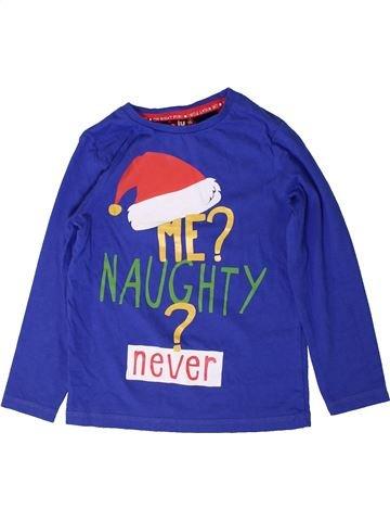 T-shirt manches longues garçon TU bleu 5 ans hiver #1403078_1
