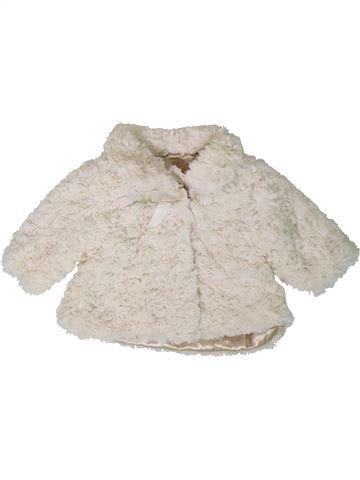 Veste fille GEORGE blanc 3 mois hiver #1403200_1