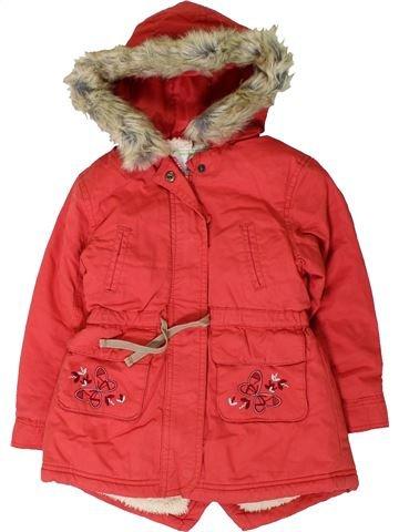 Manteau fille VERTBAUDET rouge 3 ans hiver #1403233_1