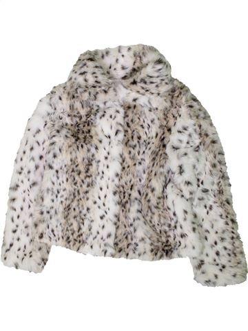 Manteau fille PRIMARK blanc 10 ans hiver #1403313_1