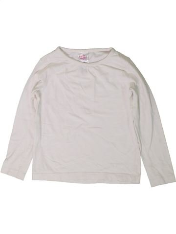 T-shirt manches longues fille E-VIE ANGEL blanc 4 ans hiver #1403350_1