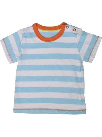 Camiseta de manga corta niño MARKS & SPENCER azul 9 meses verano #1403439_1