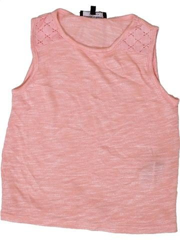 Pull fille NEW LOOK rose 8 ans hiver #1403467_1