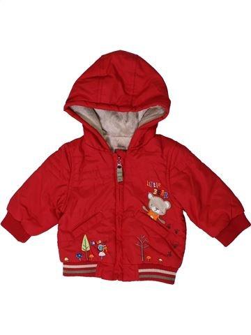 Manteau garçon TU rouge 3 mois hiver #1403473_1