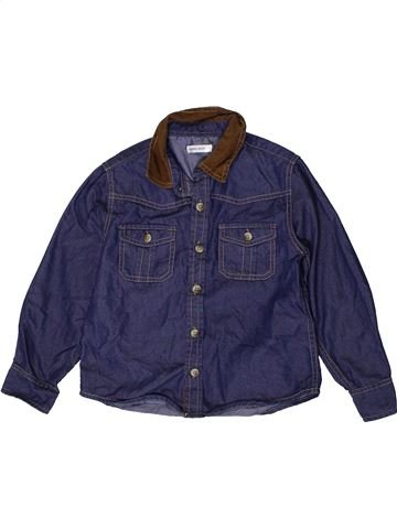 Chemise manches longues garçon URBAN ALLEY bleu 4 ans hiver #1403476_1
