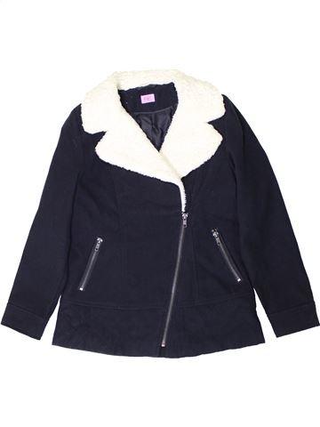 Veste fille F&F bleu 10 ans hiver #1403496_1