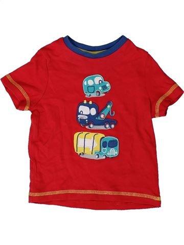 Camiseta de manga corta niño MINI CLUB rojo 12 meses verano #1403556_1