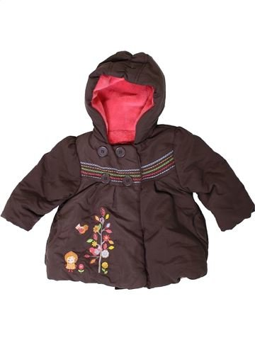Manteau fille MOTHERCARE marron 6 mois hiver #1403575_1