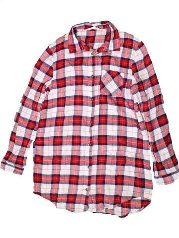 Chemise manches longues garçon H&M rose 13 ans hiver #1403577_1