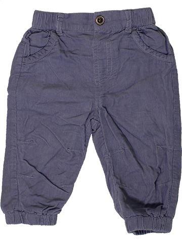 Pantalon garçon GEORGE bleu 9 mois hiver #1403587_1