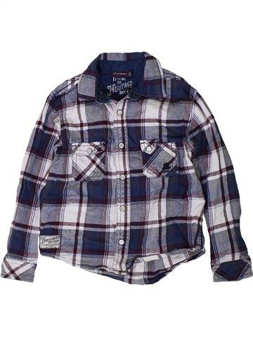 Chemise manches longues garçon SERGENT MAJOR bleu 5 ans hiver #1403711_1