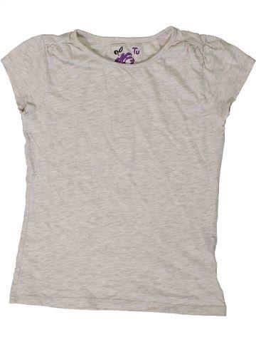 Camiseta de manga corta niña TU blanco 8 años verano #1403745_1