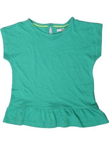 T-shirt manches courtes fille MARKS & SPENCER vert 7 ans été #1403794_1