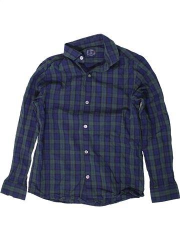 Chemise manches longues garçon NEXT bleu 10 ans hiver #1403878_1