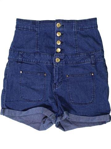 Short-Bermudas niña NEW LOOK azul 14 años verano #1403976_1