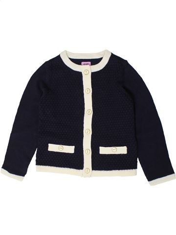 Gilet fille F&F blanc 4 ans hiver #1403981_1