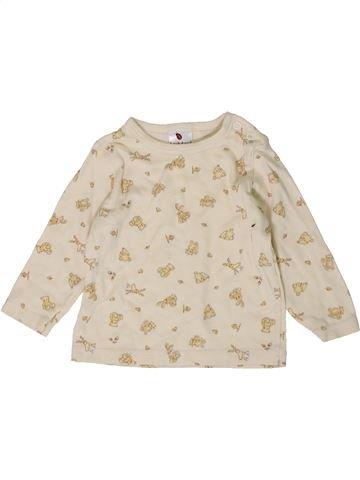 Camiseta de manga larga niño LADYBIRD blanco 9 meses invierno #1403984_1