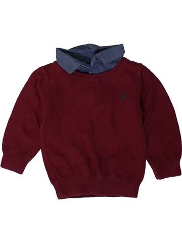Pull garçon NEXT violet 6 mois hiver #1404039_1