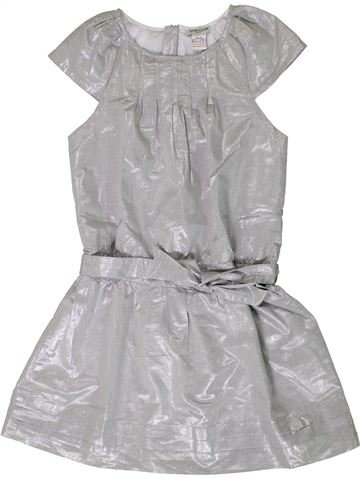 Robe fille CYRILLUS gris 10 ans hiver #1404064_1