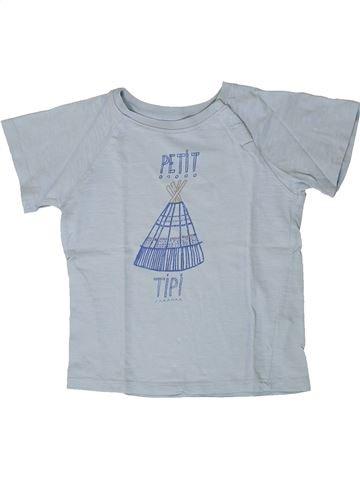 Camiseta de manga corta niño CADET ROUSSELLE gris 4 años verano #1404256_1