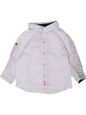 Camisa de manga larga niño TAPE À L'OEIL blanco 6 meses invierno #1404523_1