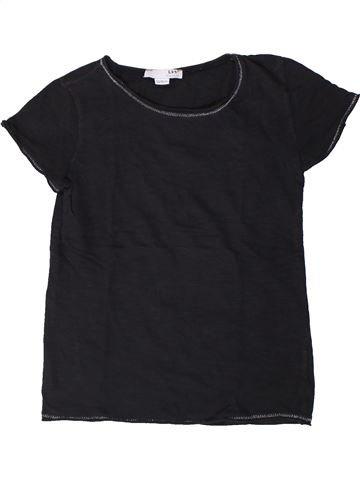 T-shirt manches courtes fille LH BY LA HALLE bleu foncé 10 ans été #1405717_1