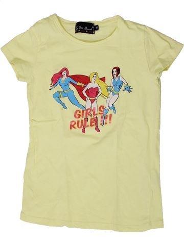 T-shirt manches courtes fille LE PETIT MARCEL vert 10 ans été #1405889_1