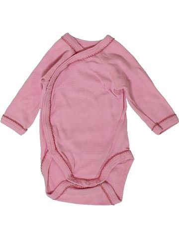 Camiseta de manga larga niña PETIT BATEAU rosa 0 meses invierno #1405954_1