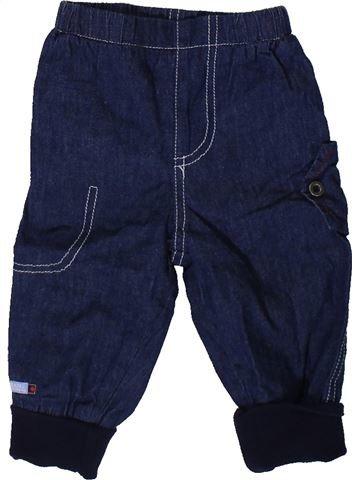 Pantalón niño LES BEBES SONT COMME ÇA azul 6 meses invierno #1406361_1