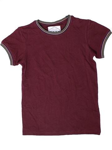 T-shirt manches courtes garçon BOYS violet 9 ans été #1407858_1