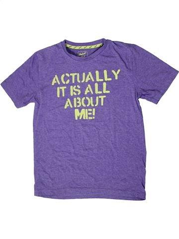 T-shirt manches courtes garçon PRIMARK violet 11 ans été #1408684_1