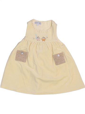 Vestido niña NATALYS beige 3 meses invierno #1409498_1