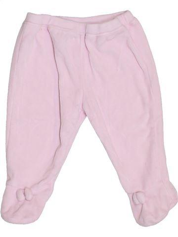 Pantalon fille NATALYS rose 6 mois hiver #1409589_1