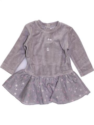 Robe fille ABSORBA gris 6 mois hiver #1409633_1