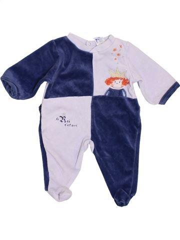 Pijama de 1 pieza niño ABSORBA azul 3 meses invierno #1409810_1