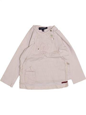 Camiseta de manga larga niña JEAN BOURGET blanco 2 años invierno #1410040_1