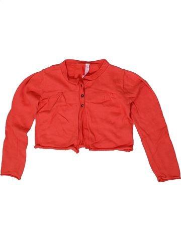 Chaleco niña GEMO rojo 6 años invierno #1410112_1