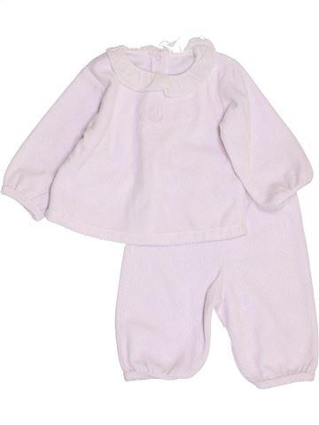 Pijama de 2 piezas niña JACADI rosa 6 meses invierno #1410190_1