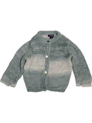 Gilet fille KIABI gris 1 mois hiver #1410203_1