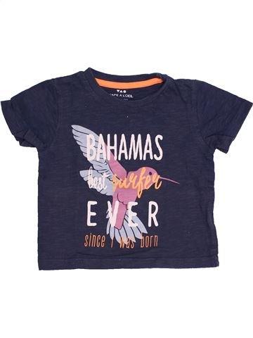 T-shirt manches courtes garçon TAPE À L'OEIL bleu 2 ans été #1410493_1