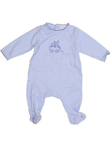 Pyjama 1 pièce garçon LINVOSGES gris 6 mois été #1410713_1