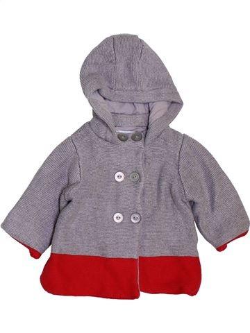 Gilet garçon OKAIDI gris 6 mois hiver #1410722_1