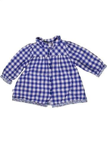 Blouse manches longues fille OKAIDI violet 6 mois hiver #1411257_1