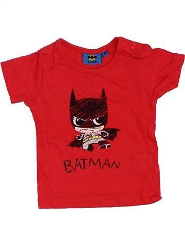Camiseta de manga corta niño SUPERS HÉROS rojo 3 meses verano #1411478_1
